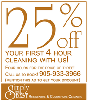 Need a maid? Hire Us! Simply The Best Cleaning